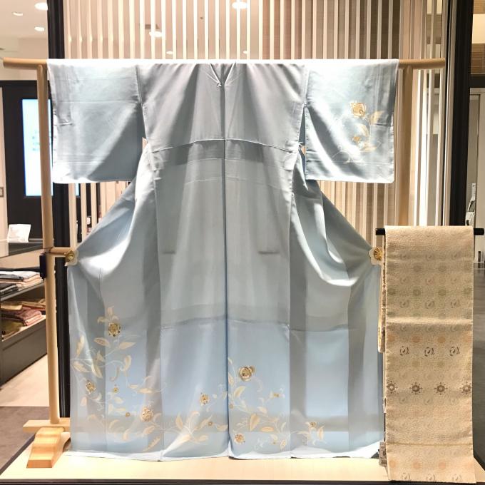 河合美術織物 唐織の袋帯