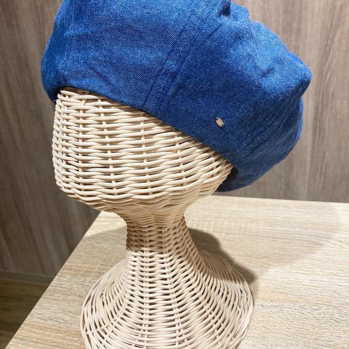デニムベレー帽♫