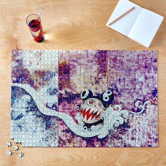 アーティスト村上隆とのコラボレーションによるジグソーパズルが登場