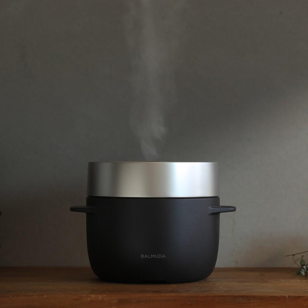 蒸気で炊き上げる特別なごはん〈バルミューダ〉バルミューダ ザ・ゴハン