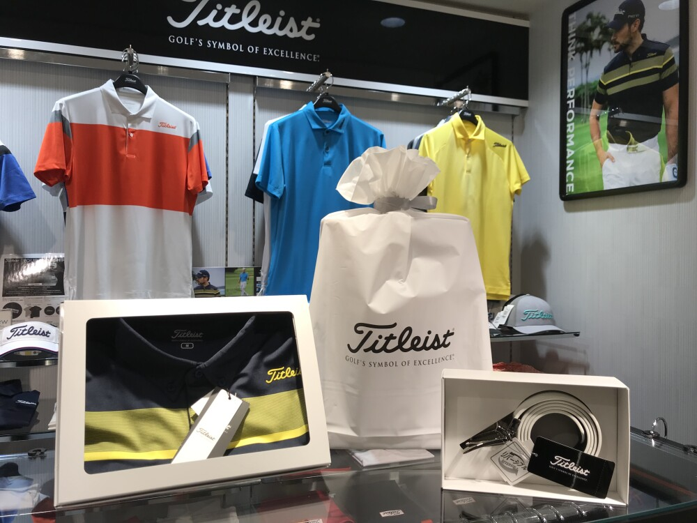 【Titleist】父の日アイテムのご紹介