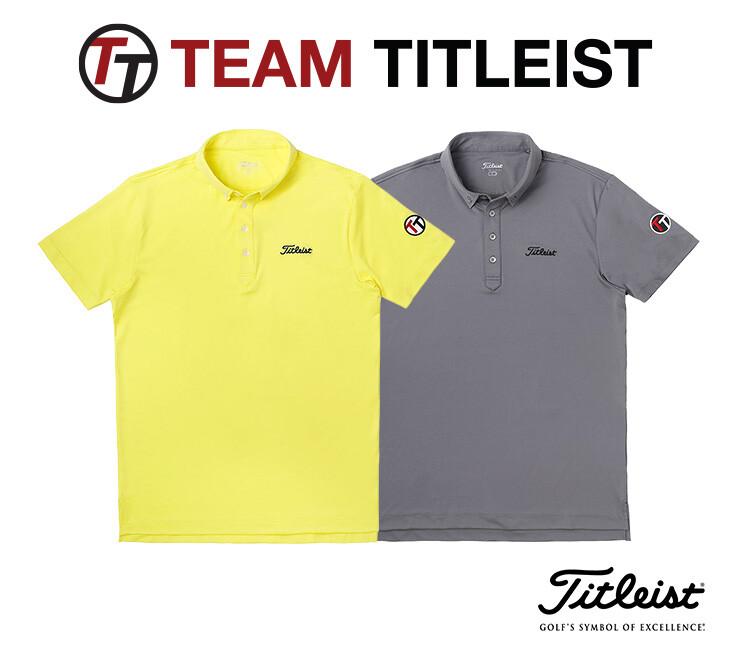 【TEAM Titleist】限定シャツ(Men's)新色入荷!