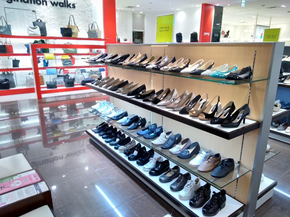 【婦人靴売場紹介】小さいサイズのご案内