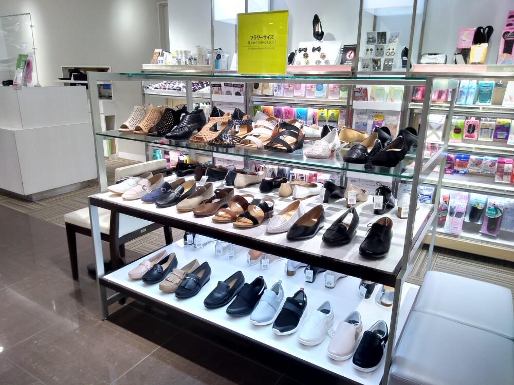 【婦人靴売場紹介 #2】大きいサイズコーナー