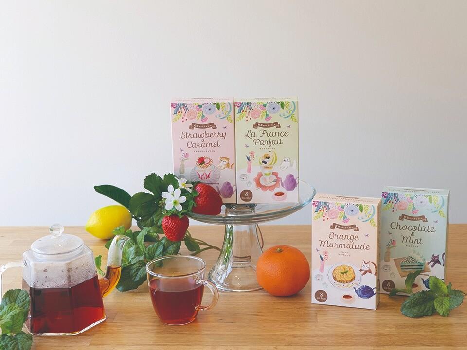 10月6日新発売✨「紅茶のパティシエ」🐈