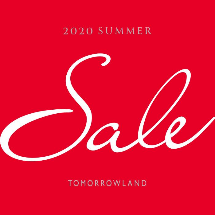 <トゥモローランド> 2020 SUMMER SALE