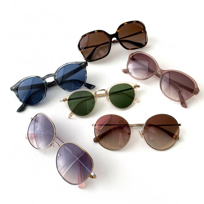 「イエベ・ブルベ別・パーソナルカラーに合わせたサングラス選びで美人度アップ」