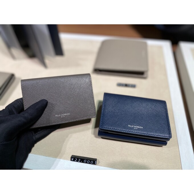 【PELLE MORBIDA】 small leather goods Collection