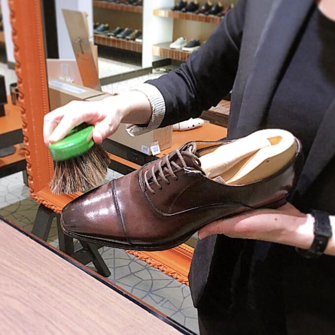 革靴のお手入れに欠かせない🐷🐴