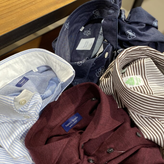 【カジュアル特集】あなたの推しシャツはどれ?