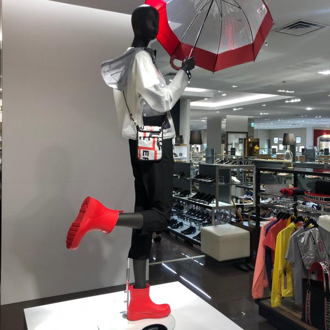 【レインシューズ】この季節に、婦人靴が嬉しい模様替え!