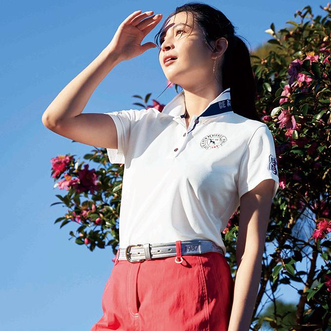 《adabat》これからゴルフを始めるならこのポロシャツスタイル