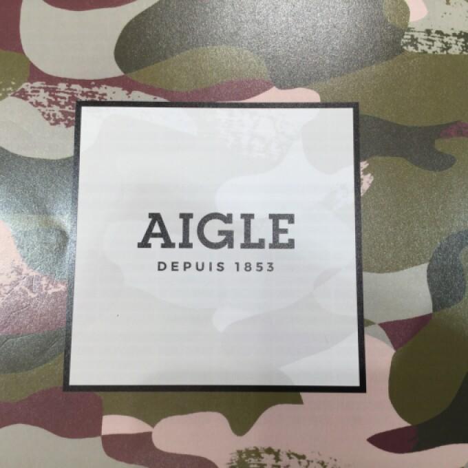 AIGLE大丸東京店ここです😊