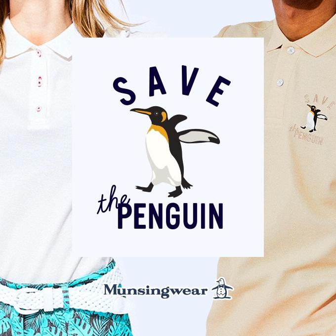 マンシングウェア ペンギンフェア開催‼️