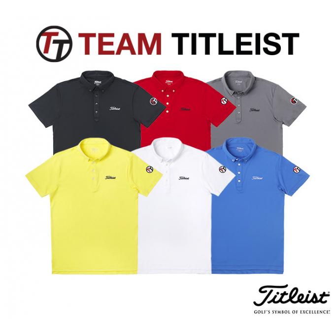 【TEAM Titleist】限定シャツ(Men's)新色ホワイトとブルーが入荷!