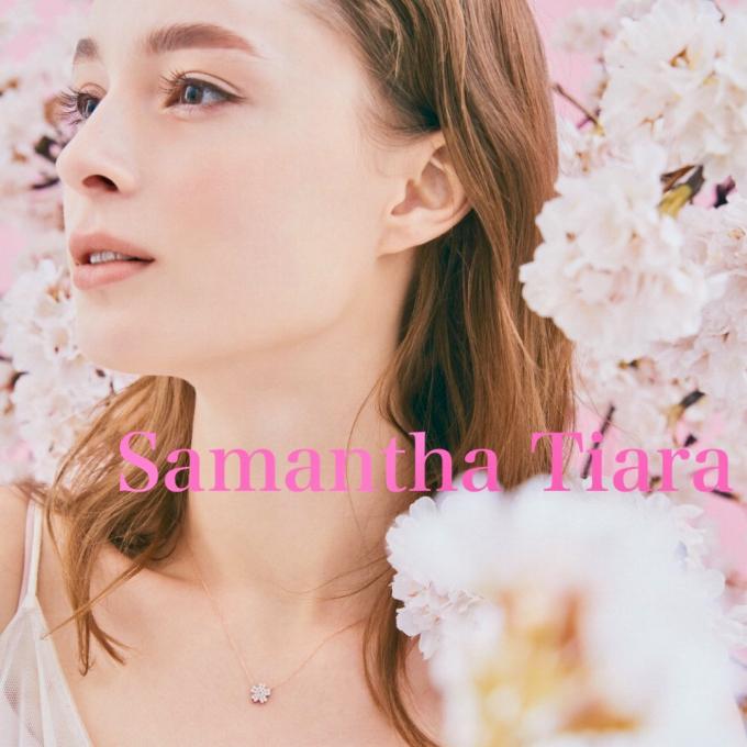 【新作】SAKURAダイヤモンドネックレス