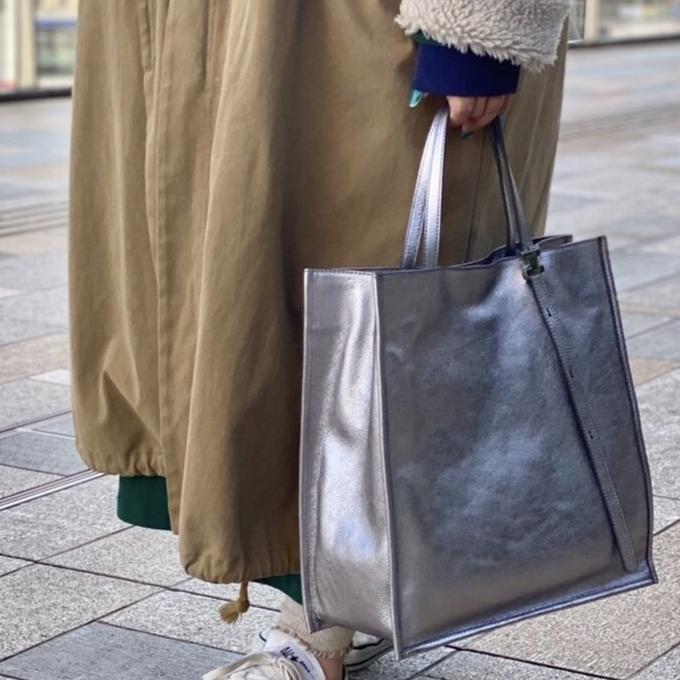 新しいバッグで♪