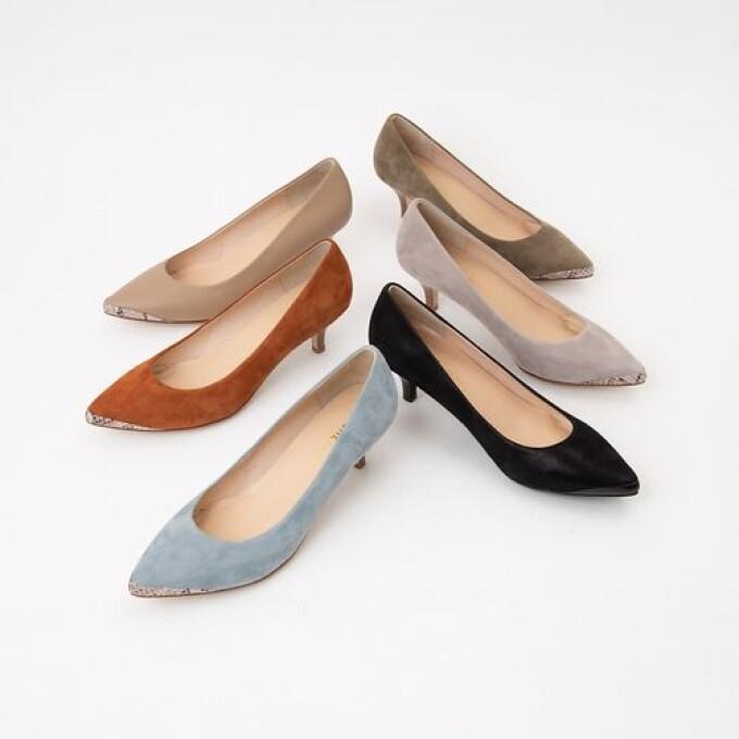 ブーツの季節のパンプスコーデ