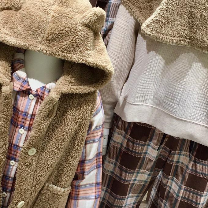 親子で着れる冬のもこもこウエア🐻