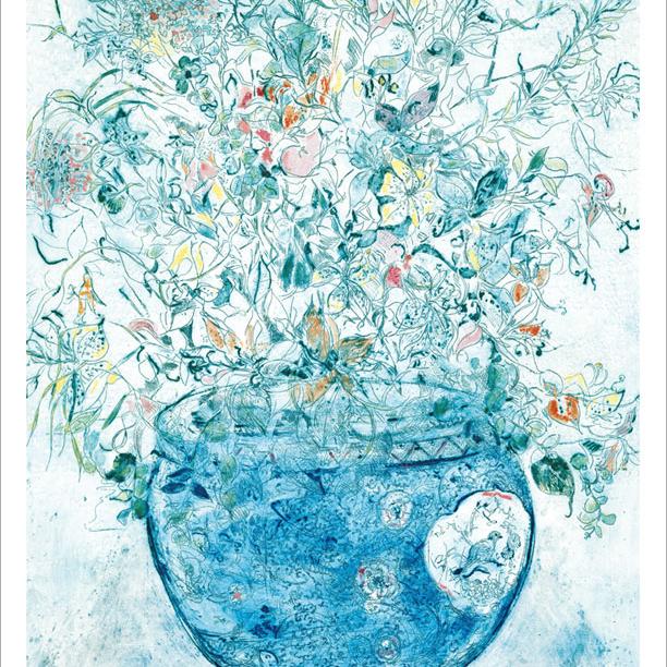 繊細な花のアート<ジョアン・アイザック>