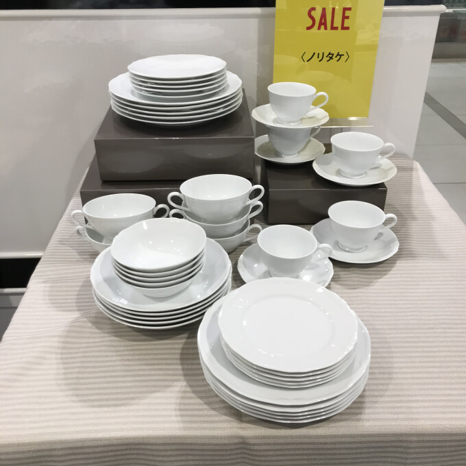 ノリタケの白い食器「コティホワイト」がお買い得価格で登場!