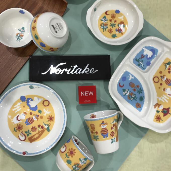はじめてのゴハンはムーミンといっしょ。 ノリタケから子供食器MOOMINBABY登場!