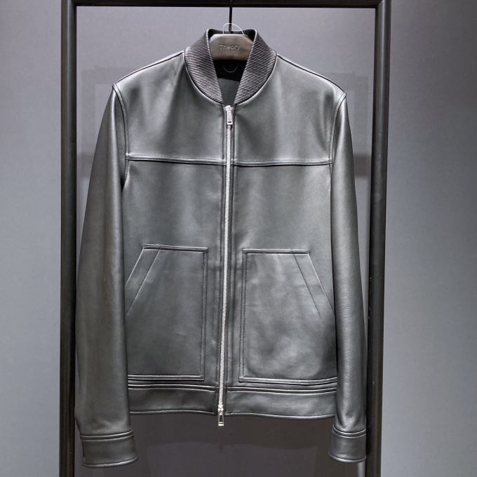 PLOVER  SPRAYBACK  Leather Blouson