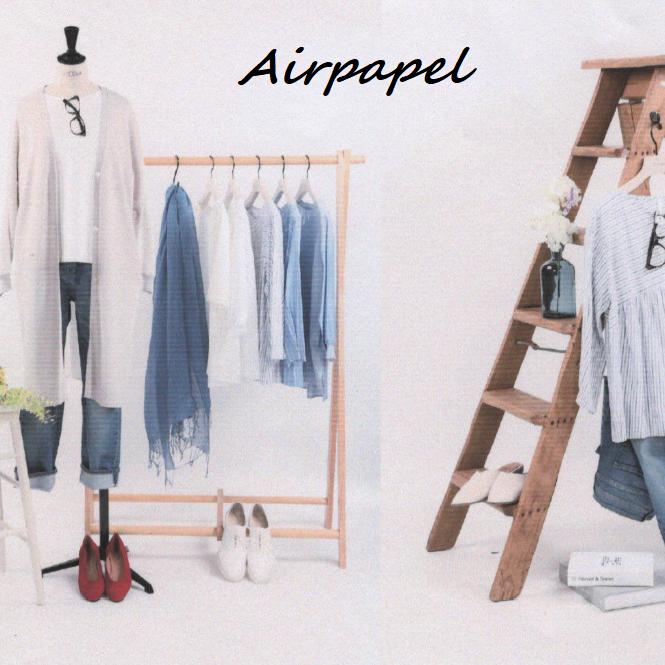 【エアパペル】夏まで着れる人気アイテム🍀