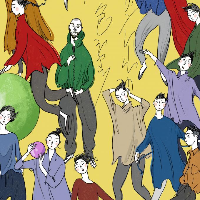 ヨーガンレール 10色シャツと10色天竺