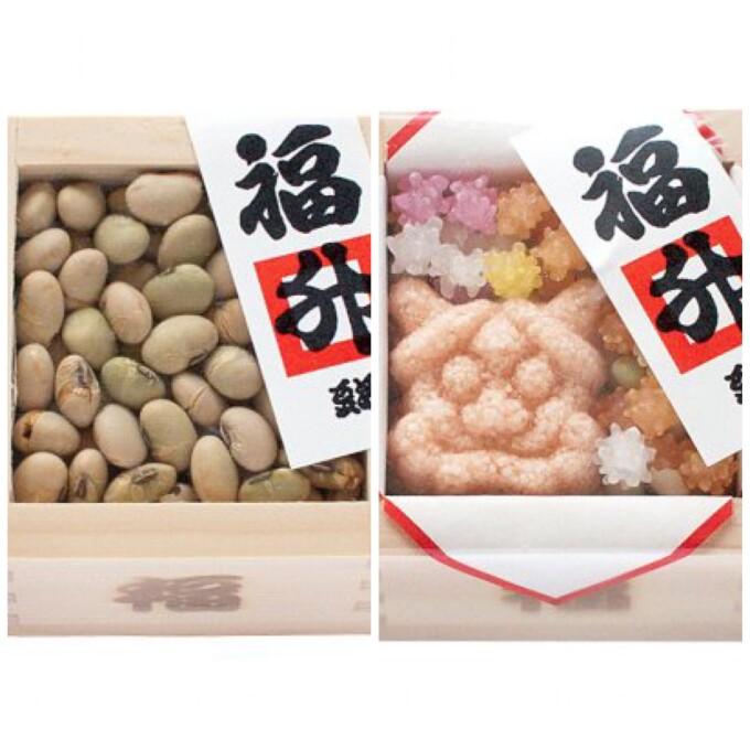 【和菓子 豆源】鬼は外、福は内 節分は豆源で