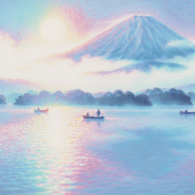 【開催中】日本を描いた作品50点一堂に展覧!「笹倉鉄平 原画」