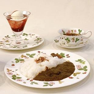 コーヒーと一緒に、甘いものも、お食事も・・・・・・