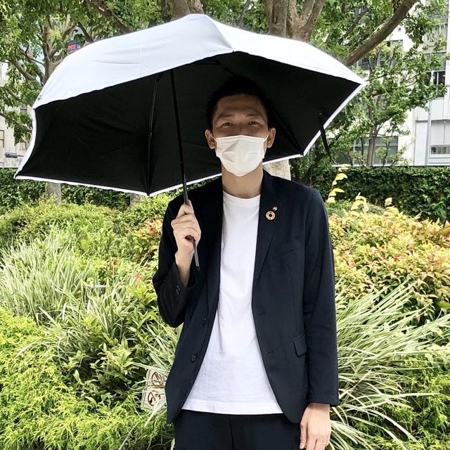 突撃🎤わが社の日傘男子💁🏻♂️vol.4