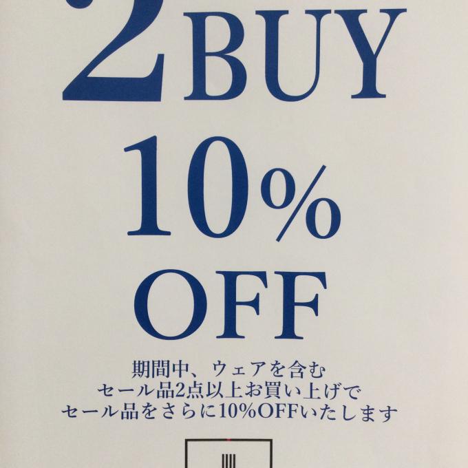 2BUY 10% OFF
