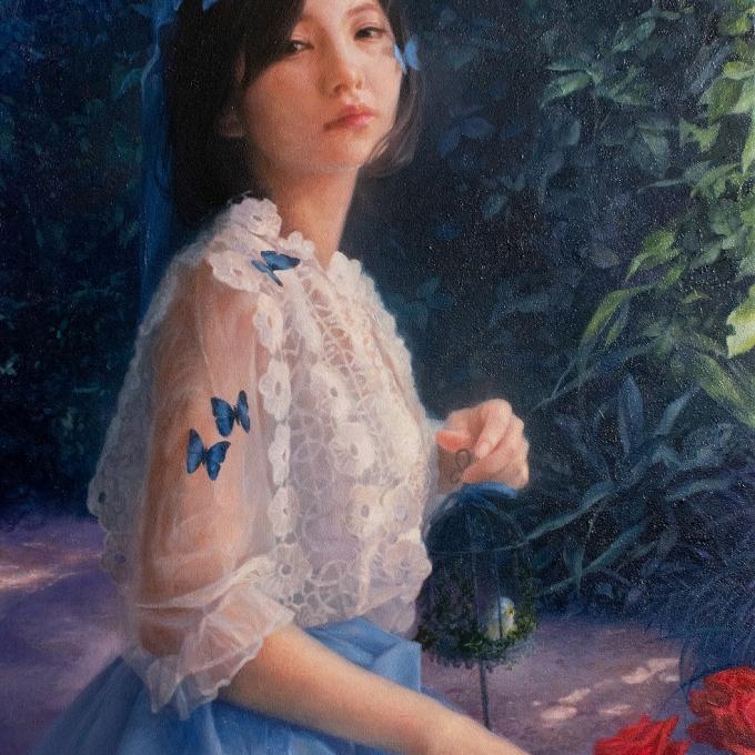 小野 彩華 油彩画展