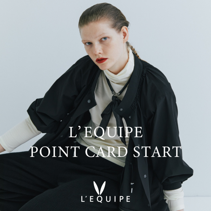 〈レキップ〉新作ジャケットの紹介&POINT  CARDもスタート!
