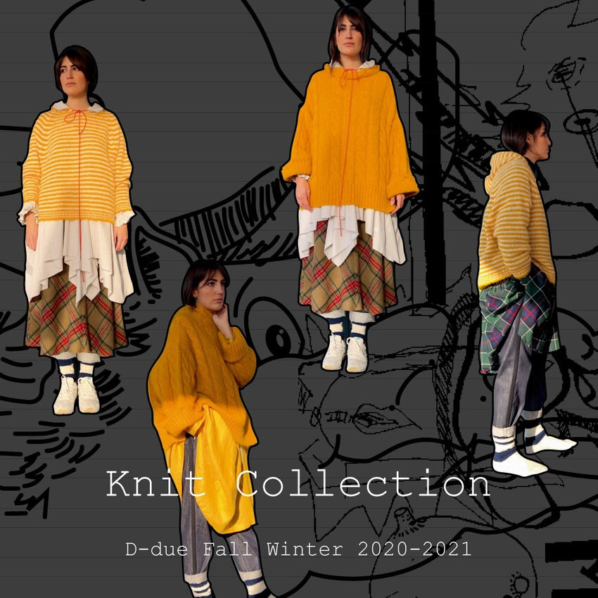 D-due FALL WINTER 2020-2021 Knit Collection