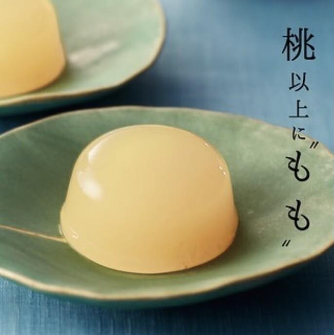 お中元おすすめギフト④清水白桃ゼリー
