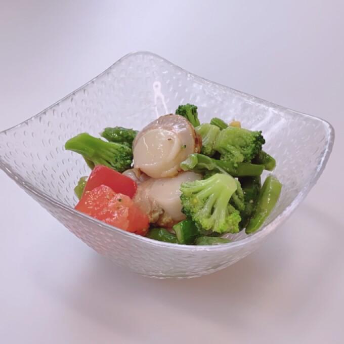 アプリでチャンス! 帆立貝と温野菜サラダがお買い得!