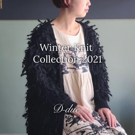D-due  WINTER KNIT COLLECTION 2021