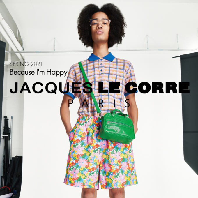 JACQUES LE CORRE -BECAUSE I'M HAPPY-