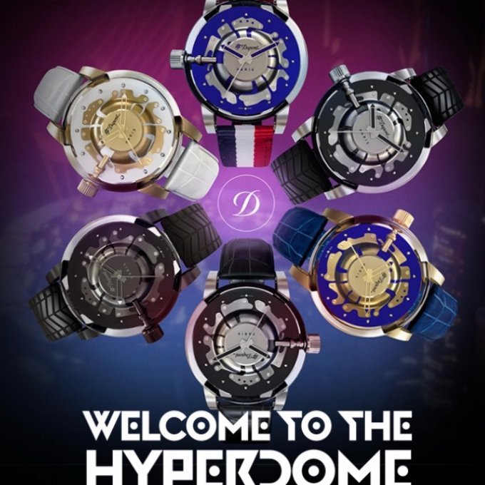 HYPER DOME  watch  campaign